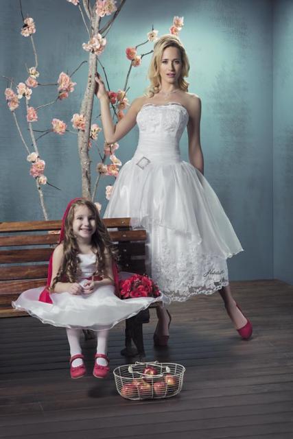 Julieta Prandi para Nubilis 49 caperucita | Casamientos Online