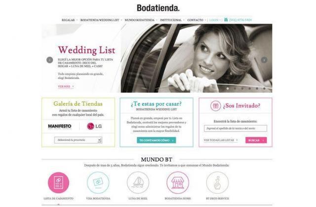 Bodatienda - Nueva Web | Casamientos Online