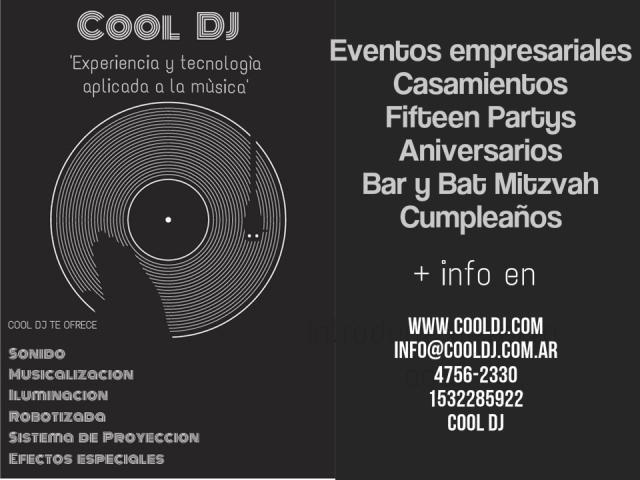 cool dj | Casamientos Online