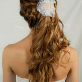peinado novia de costado