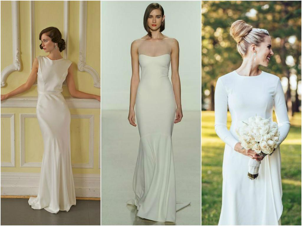 Vestidos de novia 2015: minimalismo a la carta | Casamientos Online