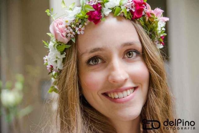 Corona de Flores | Casamientos Online