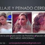 Novia - Maquillaje y Peinado Ceremonia