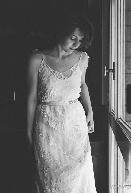 vestido de novia Candelaria