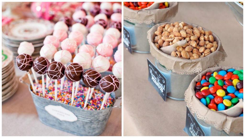 candybar para bodas