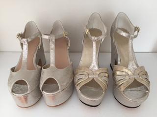 Épica Zapatos de novia | Casamientos Online