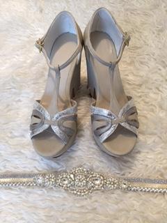 Épica Zapatos de novia