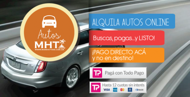 Reserva tu auto online, para tu luna de miel!