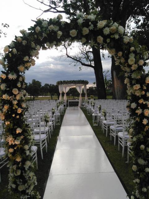 Ceremonia al atardecer | Casamientos Online