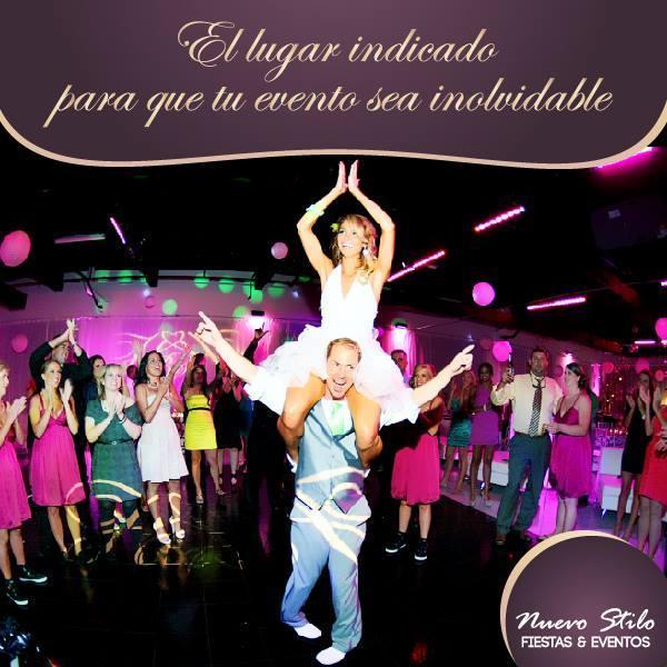 ¿Estás buscando donde realizar tu fiesta o evento?