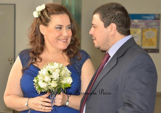 Make Up y Peinado Civil de Julieta. | Casamientos Online