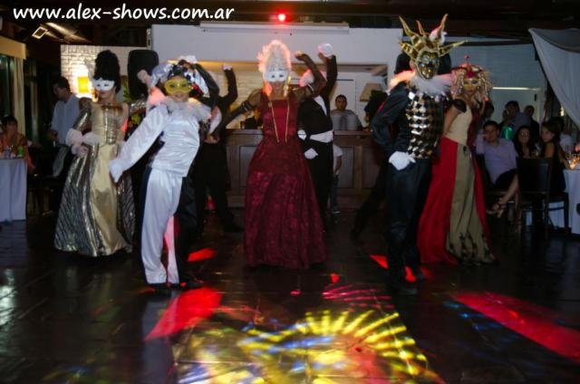 Carnaval Venecia Electro-Alex Shows | Casamientos Online