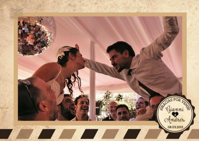 Casamiento de Gianni y Andrés | Casamientos Online