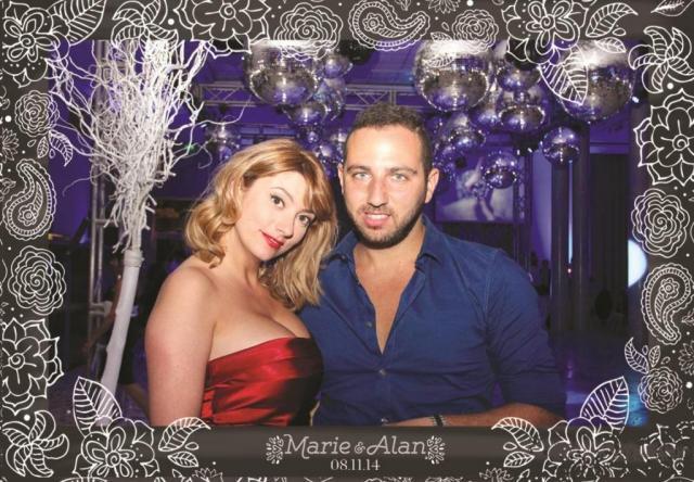 Casamiento de Marie y Alan