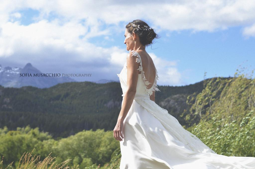Vestido de novia Caro