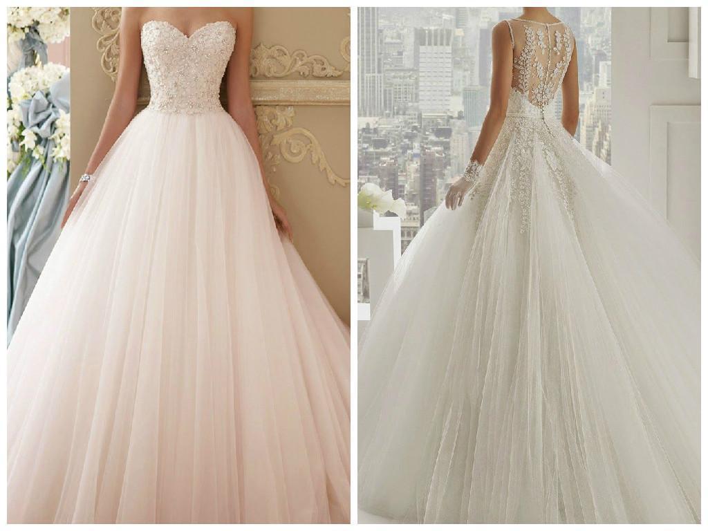 Todo tipo de vestidos de novia