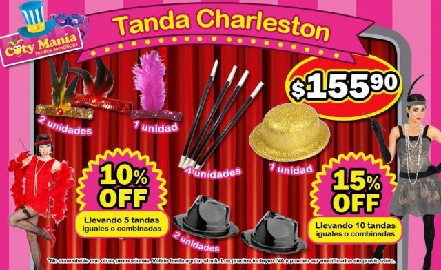 Tanda CHARLESTON | Casamientos Online