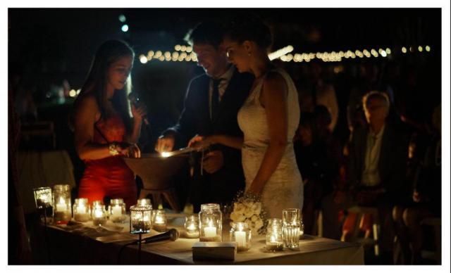 Ambientación con velas   Casamientos Online