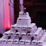 Torta de Bodas con mini tortas.