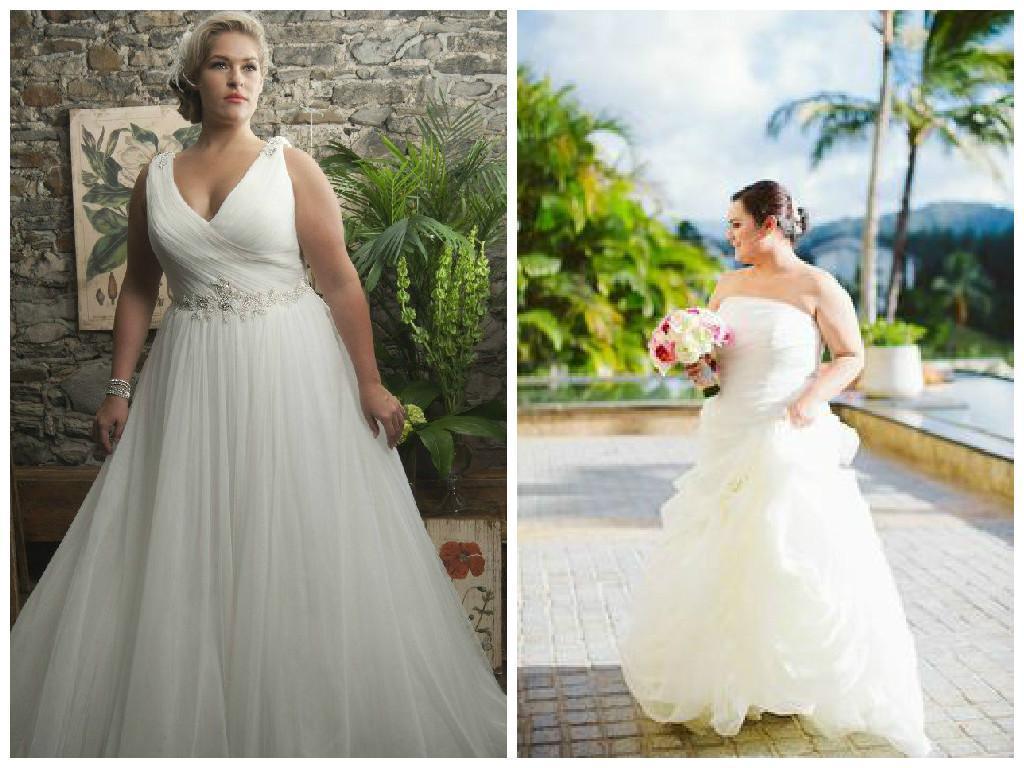 Vestidos de novia para gorditas | Casamientos Online