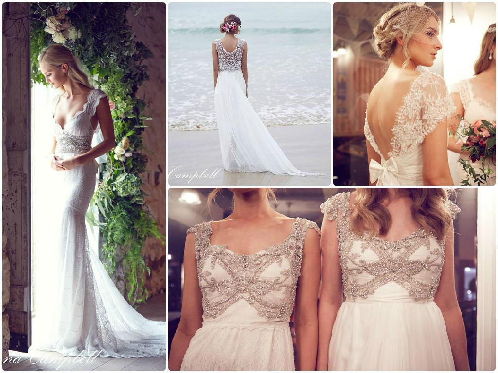 Anna Campbell vestidos de novia