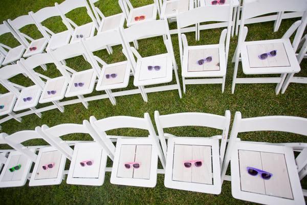 Anteojos Rayban de colores | Casamientos Online