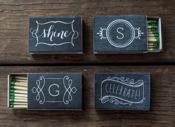 Cajitas de fósforos personalizadas para souvenirs | Casamientos Online