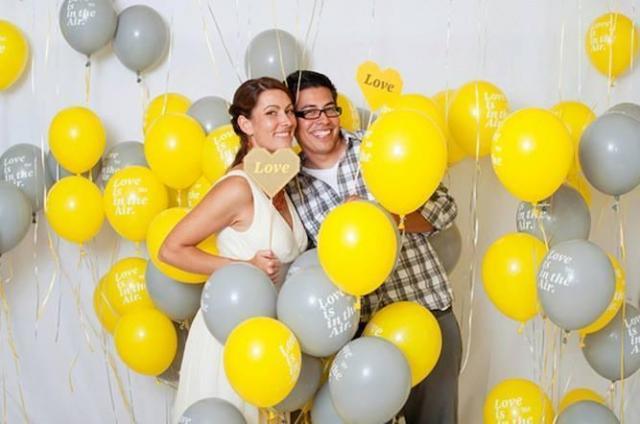 Globos impresos para decoración | Casamientos Online