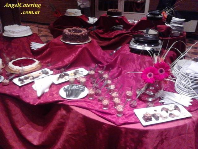 mesa dulce Angel Catering | Casamientos Online