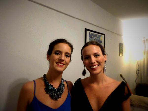 Paula Nougués & Clara Beltrán (Maquillaje) | Casamientos Online