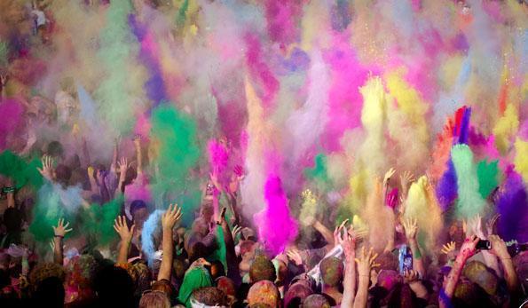 Polvo de colores | Casamientos Online