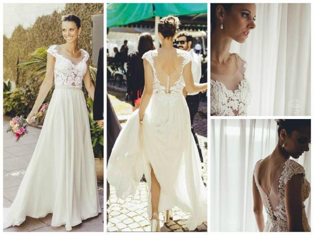 vestido jimena | Casamientos Online