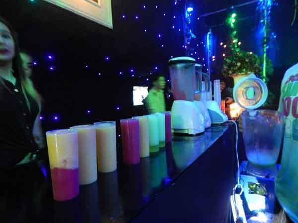 Kids Bar (tragos sin alcohol)