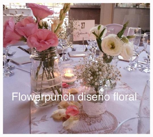 Flower Punch (Ambientación y Centros de Mesa)   Casamientos Online