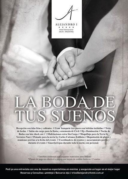 Alejandro I - Bodas