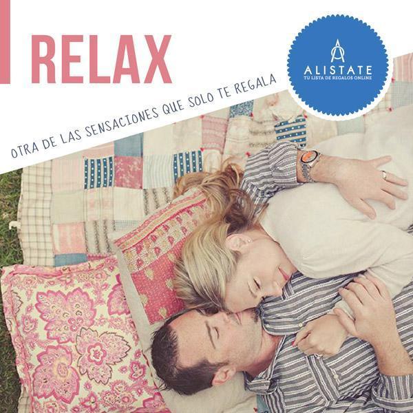 Sensaciones Alistate: ¡Relax!