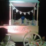 Candy bar y carreta, Catering y Mesa Dulce