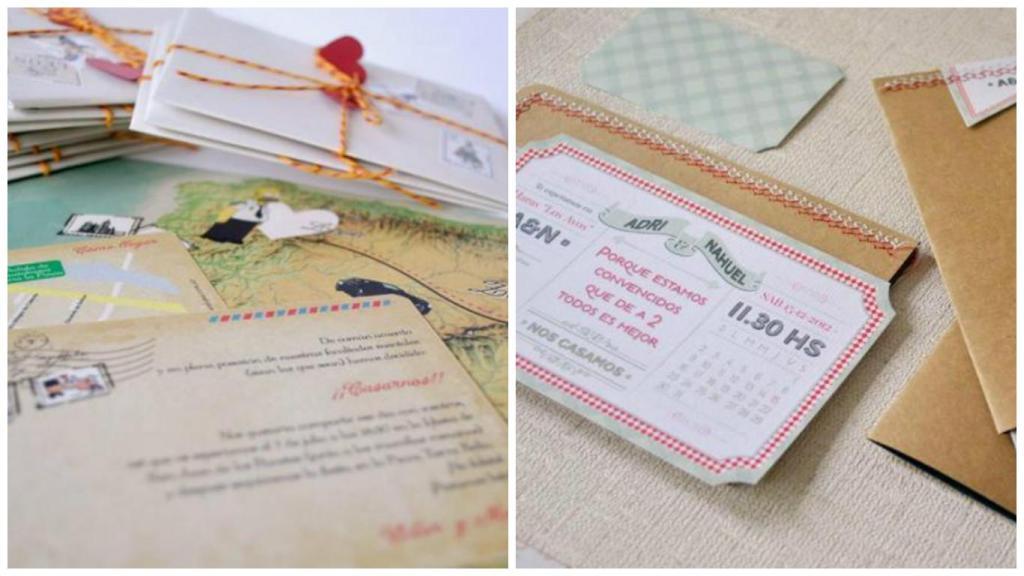 Como armar las invitaciones de boda