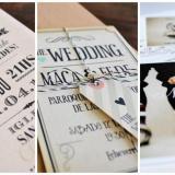 Nota de Tarjetas de casamiento: 5 reglas basicas