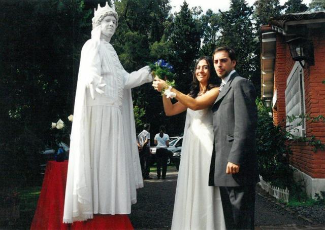 Personaje de recepción: Estatua Viviente