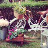 Nota de Bicicletas en la ambientación: Claro que si!!