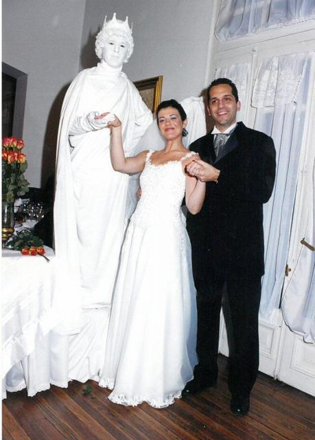 Personaje Estatua Viviente | Casamientos Online