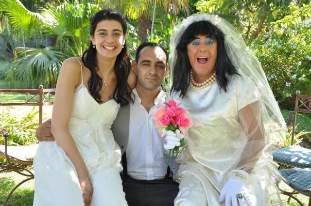 Personaje Novia Falsa | Casamientos Online