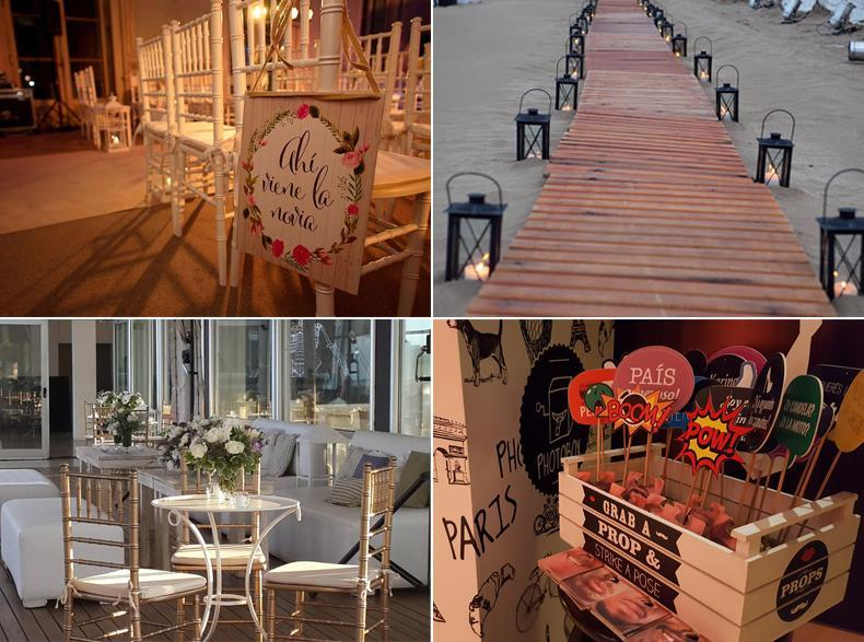 una wedding planner nos ayuda a planificar un casamiento. Piensa, organiza y concreta las fiestas. Ambientación, detalles, salon, catering y más.