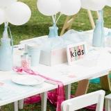 Nota de DIY: cómo armar una mesa divertida para los más chicos!