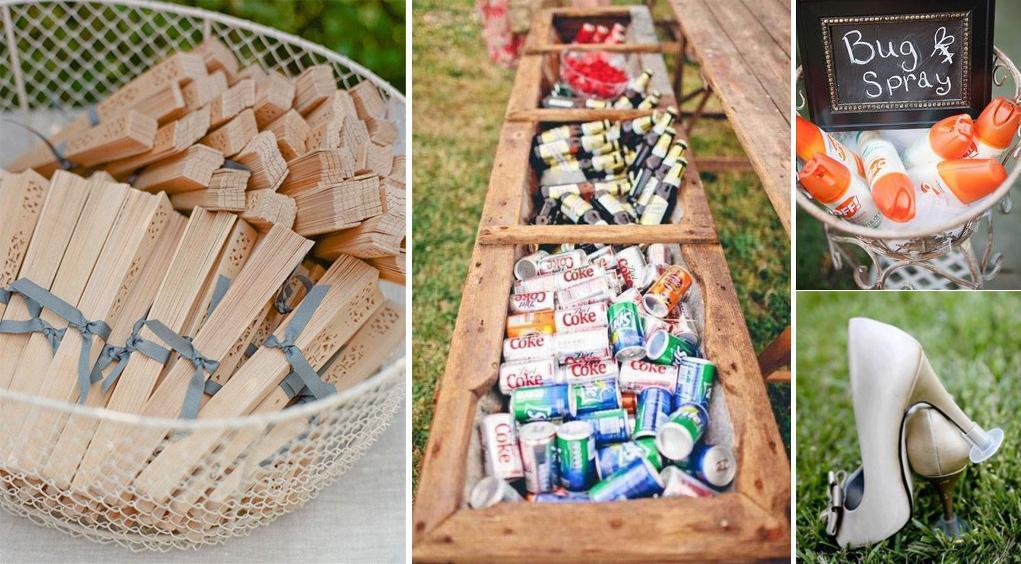 Ideas Originales para sorprender a los invitados en bodas de verano