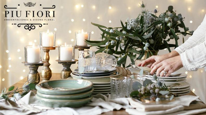 Ambientación de fiestas por PIU FIORI. Las flores son un elemento fundamental a la hora de Ambientar para dar vida y color a una fiesta.