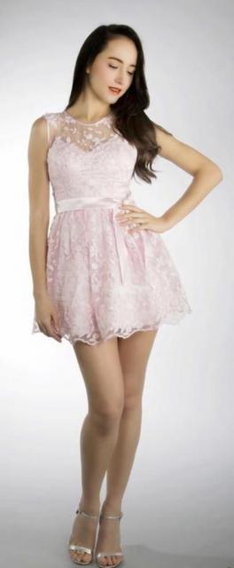 Art. 03155 Delicado vestido de organza bordada | Casamientos Online