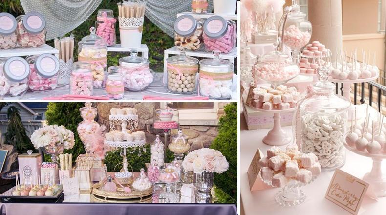 Kiosco Movil, CandyBar en un casamiento de día.