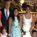 Nota de El casamiento de Carlos Tevez y Vanesa Mansilla